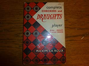 The Complete Draughts Player: La Roux, Maxim