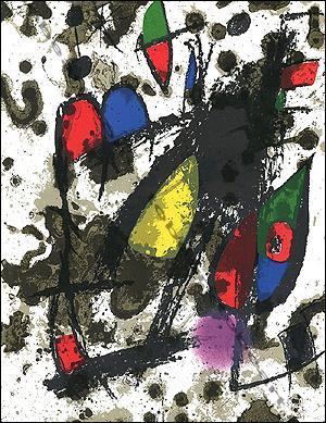 MIRO Lithographe II - 1953 - 1963.: [Joan MIRO].