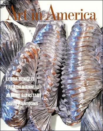 Art in America n°12. 1991