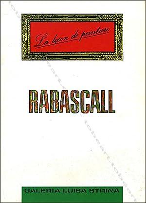RABASCALL. La leçon de peinture / A: Joan RABASCALL].