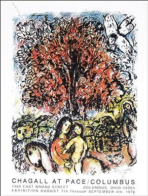 Marc CHAGALL. Sainte Famille. 1976.: Marc CHAGALL.