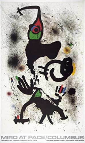 Joan MIRO. Miro At Pace / Columbus. 1979.