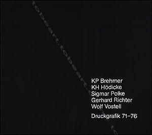 KP BREHMER / KH HÖDICKE / Sigmar: BREHMER, HÖDICKE, POLKE,