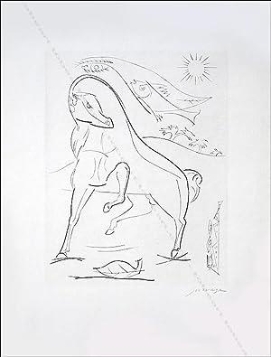"Leopold SURVAGE. Gravure originale ""Cheval de Reine"".: Leopold SURVAGE."