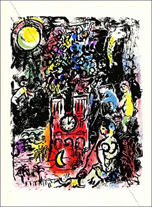 Marc CHAGALL. L'arbre de Jessé / The tree of Jesse. Lithographie original / Original lithograph, ...