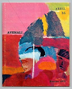 Marcello AVENALI - Ariel N°35 - Carte: Marcello AVENALI].
