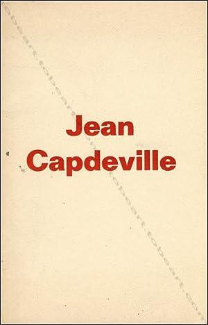 Jean CAPDEVILLE. Estampes.: Jean CAPDEVILLE].
