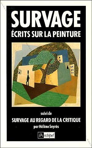 SURVAGE. Ecrits sur la peinture.: Léopold SURVAGE].