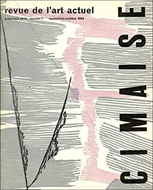 Cimaise 4ème série - N°1. Revue de: Hans HARTUNG, Georges