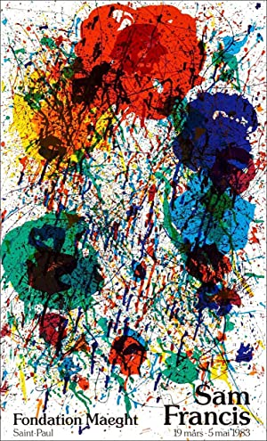 Sam FRANCIS. Composition 1983.