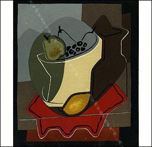 L'atelier de Juan GRIS. Peintures de 1926: Juan GRIS].