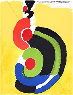 Sonia DELAUNAY. Lithographie.