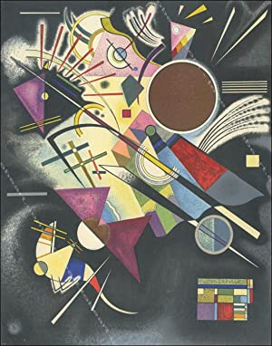 Vassily KANDINSKY. COMPOSITION II. Lithographie 1960.