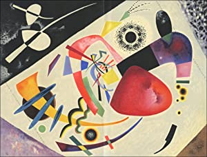 Vassily KANDINSKY. COMPOSITION III. Lithographie 1960.
