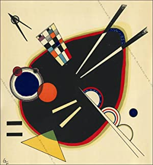 Vassily KANDINSKY. COMPOSITION VI. Lithographie 1953.