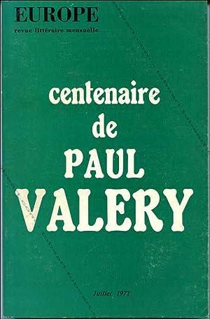 EUROPE revue littéraire mensuelle. Centenaire de Paul: Huguette Laurenti, Jacques