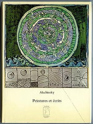 ALECHINSKY, Peintures et écrits.: Pierre ALECHINSKY].