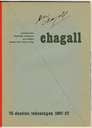 Marc CHAGALL. 75 dessins / tekeningen 1907-27.: Marc CHAGALL].