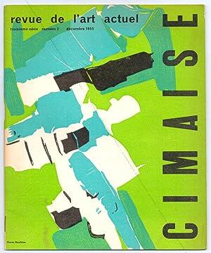 Cimaise 3ème série - N°2 - Revue: VIEIRA da SILVA,