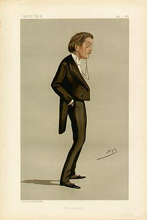 "Macclesfield"". Statesmen. No. 550.: BROMLEY-DAVENPORT, William, Mr."