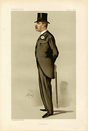 "Cuthbert"". Men of the Day. No. 407.: LARKING, Cuthbert, Colonel."