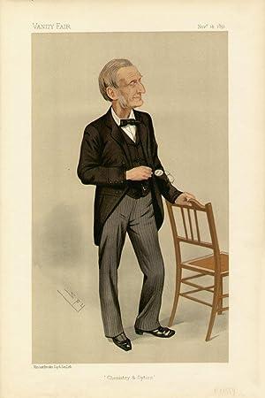 "Chemistry & Optics"". Men of the Day. No. 523. Scientist.: GLADSTONE, John Hall, Professor."
