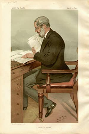 "Printed Books"". Men of the Day. No. 618. Author.: GARNETT, Richard, Dr."