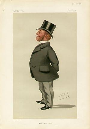 """Montgomeryshire"""". Statesmen. No. 308.: WILLIAMS-WYNN, Charles Watkin, Mr."""