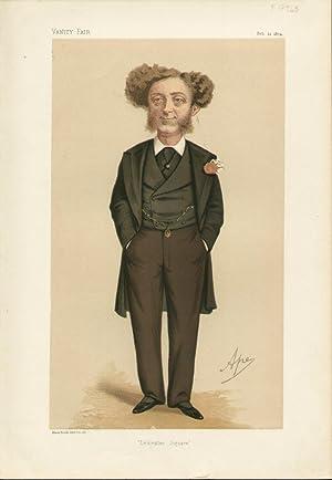 """Leicester Square"""". Statesmen. No. 162.: GRANT, Albert, Mr."""