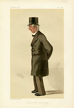 "has sat for three and forty years"". Statesmen. No. 454.: KNIGHT, Frederick Winn, Mr."