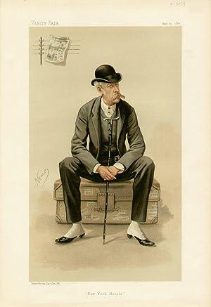 "New York Herald"". Men of the Day. No. 317. Journalist.: BENNETT, James Gordon, Mr."