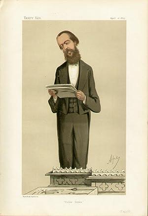 "Order Order"". Statesmen. No. 199.: RAIKES, Henry Cecil, Mr."