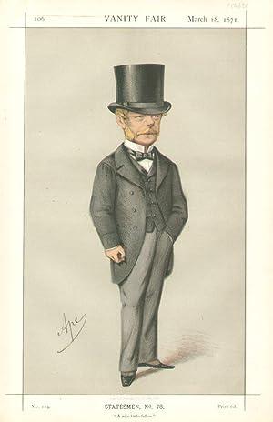 "A nice little fellow"". Statesmen. No. 78.: NOEL, Gerard James, The Hon."