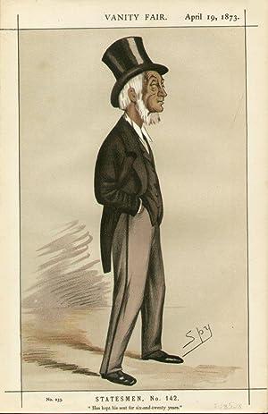 "Has kept his seat for six-and-twenty years."" Statesmen. No. 142.: HEADLAM, Thomas Emerson, The..."