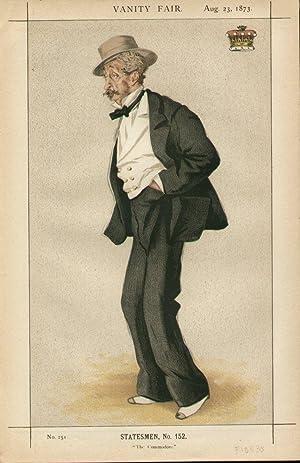 "The Commodore."" Statesmen. No. 152.: WILTON, The Earl of."