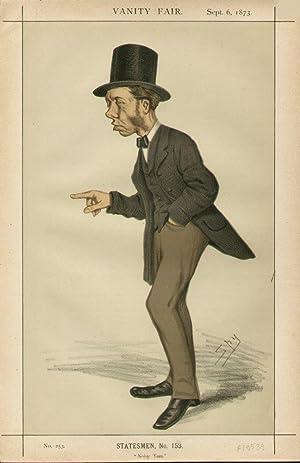 """Noisy Tom."""" Statesmen. No. 153.: COLLINS, Thomas, Mr."""