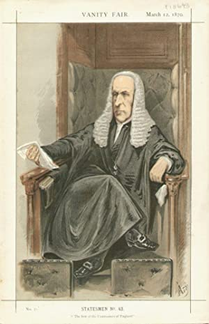 """The first of the Commoners of England."""" Statesmen. No. 43.: THE SPEAKER, The Right Hon."""