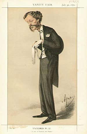 "A man of Fashion and Politics."" Statesmen. No. 57.: GORDON-LENNOX, Henry G.C., Lord."