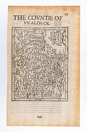 Waldek Comit. / The Countie of Waldeck. [Germany]: MERCATOR, Gerard & HONDIUS, Jodocus.