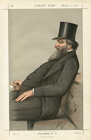 "The fat of the land"". No.123. Statesmen, No.77.: HUNT, The Right Hon. George Ward,"