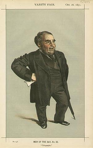 "Telegraphs"". No.156. Men of the Day, No.35.: PENDER, John, Mr."