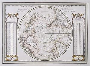 Emisfero Terrestre Meridionale Tagliato Sul L'Equatore. /: PITTERI, G [Drawn