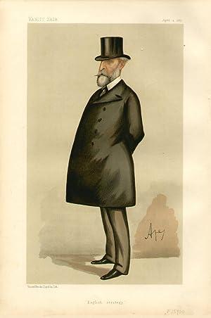 "English strategy"". Statesmen. No. 517.: HAMLEY, Edward Bruce, Lieutenant-General, Sir."
