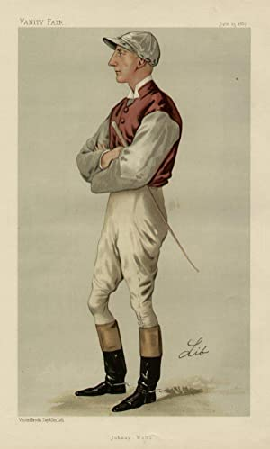 "Johnny Watts"". Men of the Day. No. 380. Jockey.: WATTS, John, Mr."