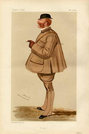 "Podge"". Men of the Day. No. 388.: SOMERSET, Henry Arthur George, Major Lord."