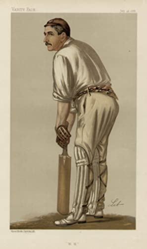 "W. W."". Men of the Day. No. 406. Cricketer.: READ, Walter William, Mr."
