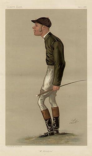 "Mr. Abington"". Men of the Day. No. 412. Jockey.: BAIRD, G. A., Mr."