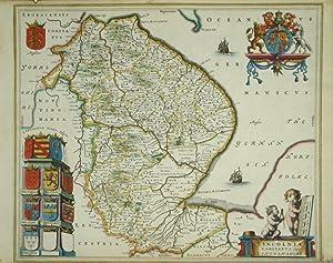 Lincolnshire. Lincolnia Comitatus. Anglis Lincolnshire.: BLAEU, Joan].