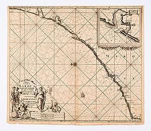 Paskaart Van de Kust van Maroca Beginnende: KEULEN, Johannes van.