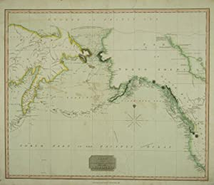 Chart Of The Northern Passage Between Asia & America.: NEELE, [Samuel].